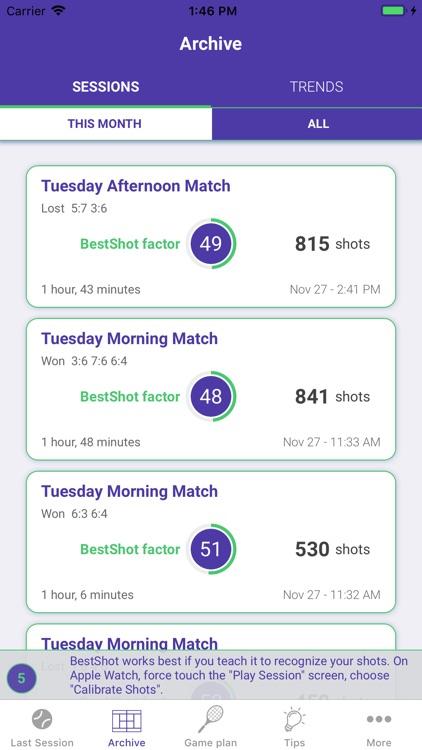 BestShot Tennis Tracker screenshot-3