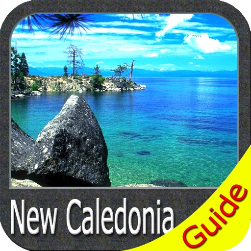 New Caledonia - GPS Map Navigator