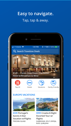 how to take a screen shot iphone travelzoo hotel amp travel deals on the app 8658