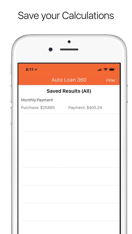 Auto Loan Calculator 360 screenshot-5