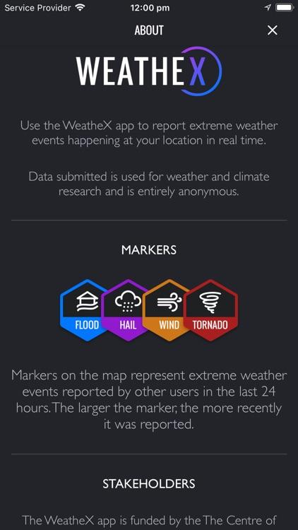 WeatheX - Weather Reporting screenshot-4