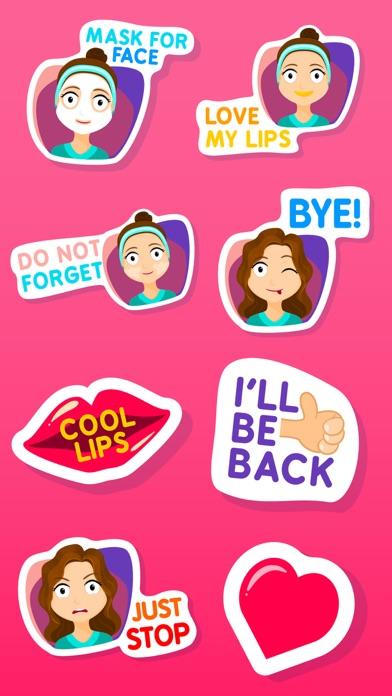 Fiona the Sassy Girl Stickers screenshot three