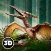 飞行龙胆恐龙野生动物3D