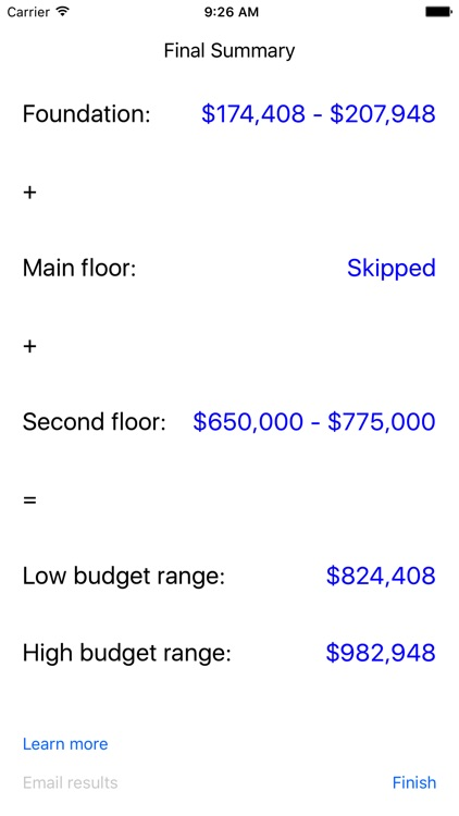Tiny Home Estimation screenshot-3