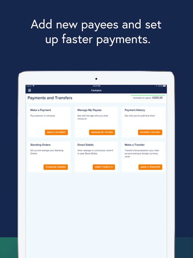 Cashplus Mobile App on the App Store