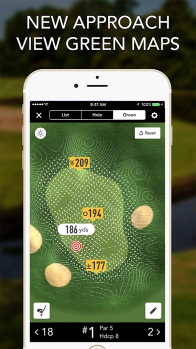 Golflogix Gps review screenshots