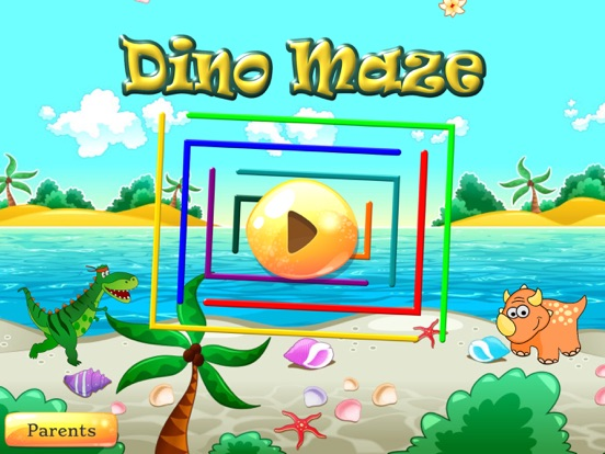 Dino Maze: kids learning games на iPad