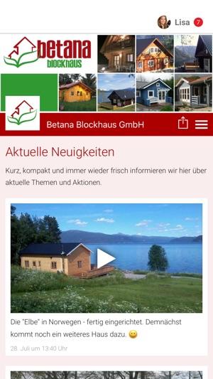 Betana Blockhaus Gmbh Im App Store