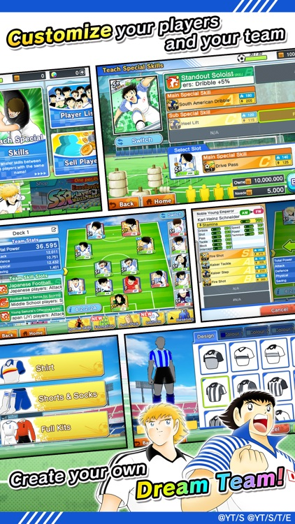 Captain Tsubasa: Dream Team screenshot-4