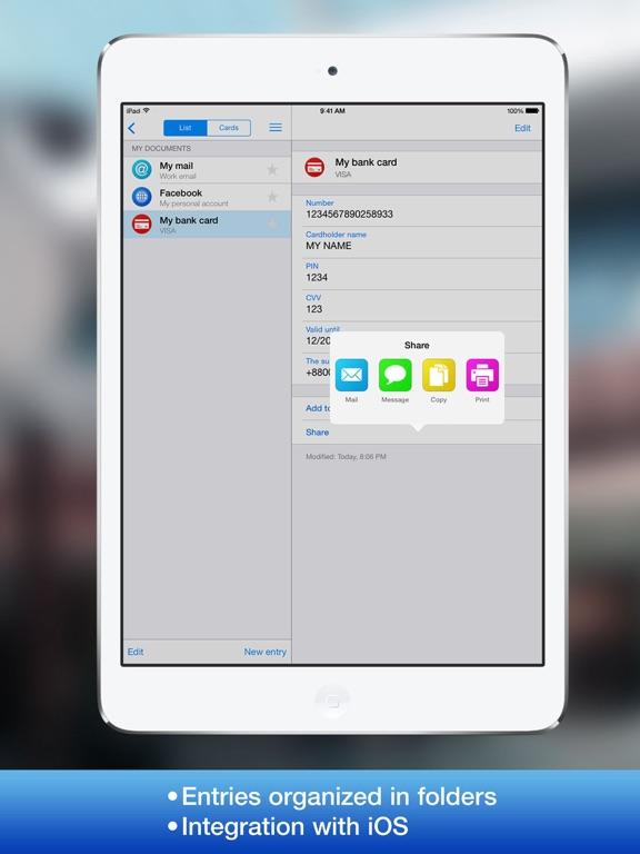 AllPass Pro Screenshots