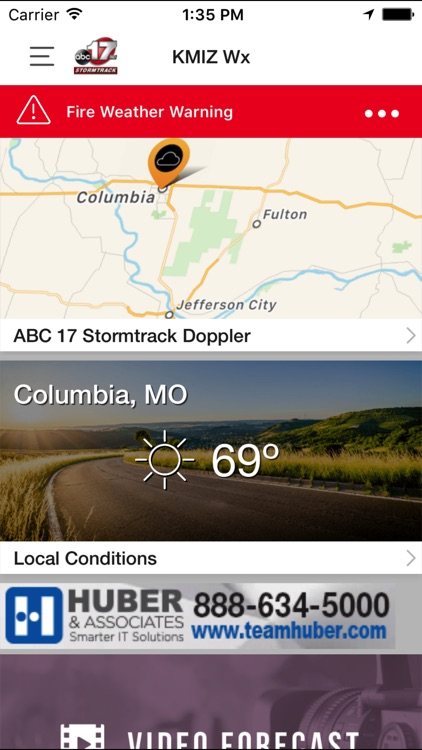 ABC 17 Stormtrack Weather App screenshot-2