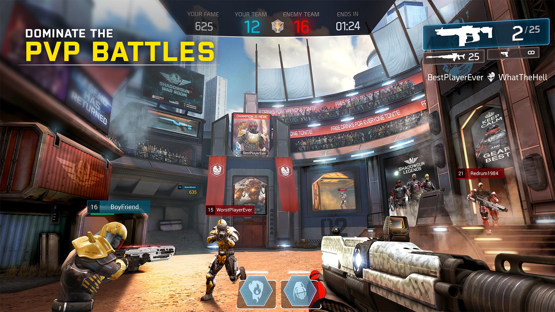 Shadowgun Legends: Online FPS screenshot 22