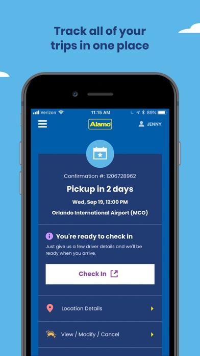 Alamo Car Rental App Price Drops