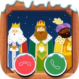 VideoLLamada con Reyes Magos