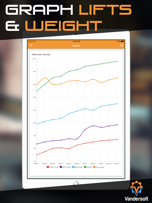Wendler Log - Strength & Workout Routine Tracker for Powerlifting and Bodybuilding screenshot