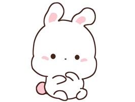 我是一只欢乐兔, 开心不开心 来撩我 ^_^