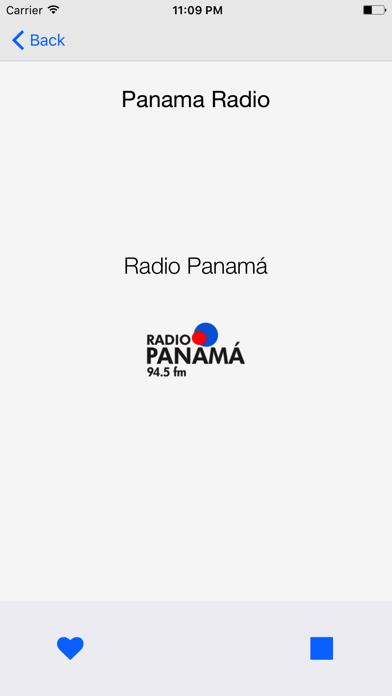 Panama Radio screenshot three