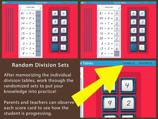 Montessori Division Tables screenshot 9