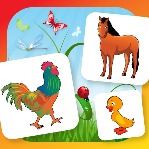 Farm Flip Fun – Match Animals