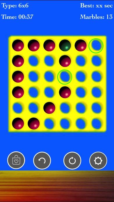 Brainvita Marble Solitaire Fun screenshot 3