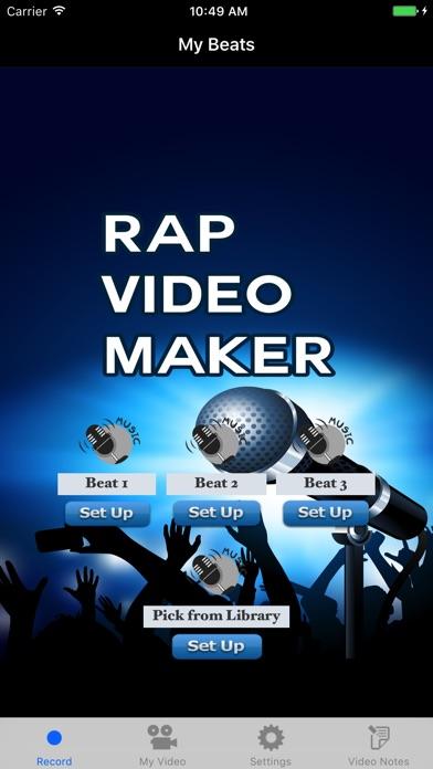 rap video maker app download