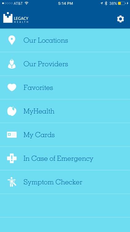 Legacy Health Consumer App