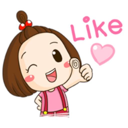 Nana - Little Girl Sticker