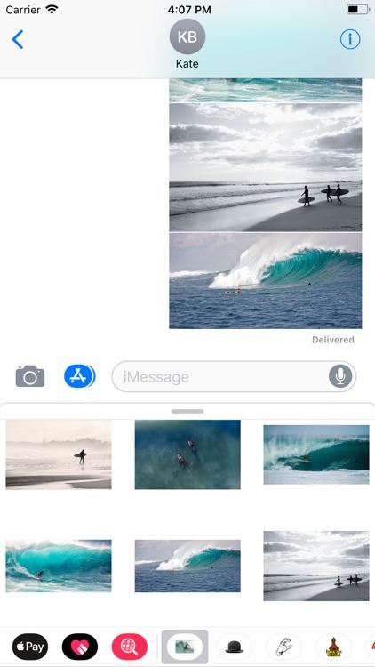 Surfing Sticker Pack screenshot-6