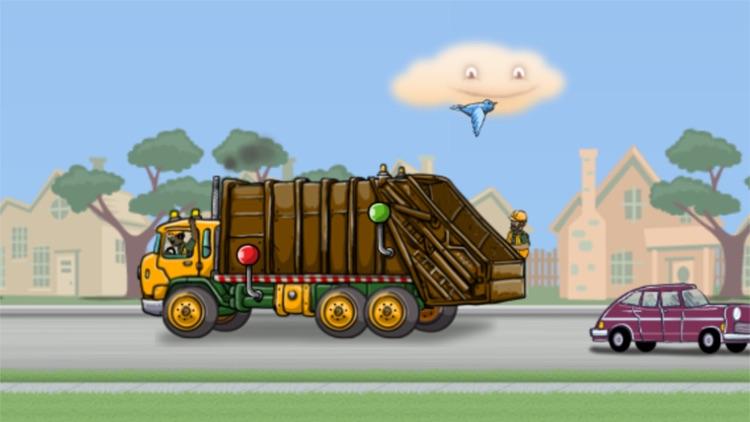 Garbage Truck: Brushy Pick Up screenshot-4