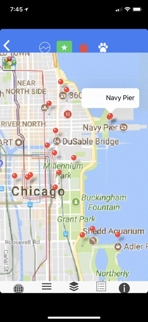 Chicago Subway Map With Streets.Chicago Subway Bus Offline Map