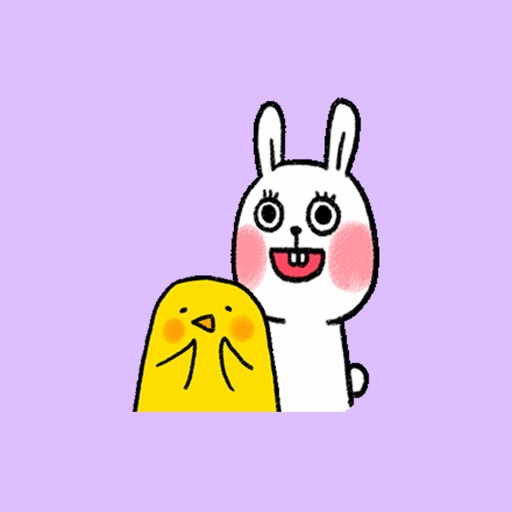 Rabbit and Chick Animated