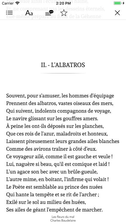 Anthologie de la Poésie screenshot-3