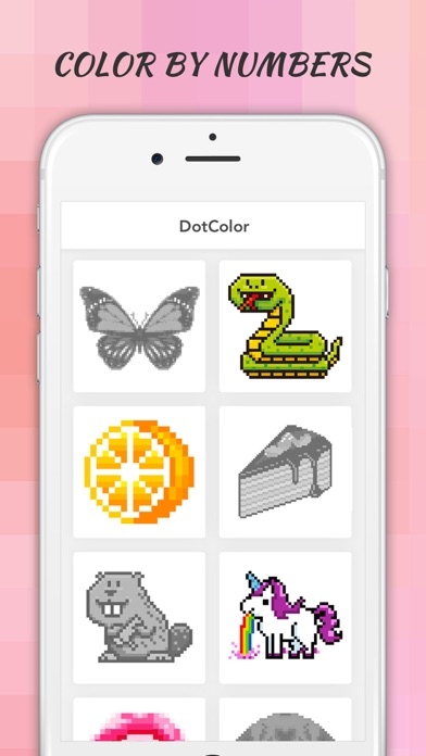 DotColor - Color by Number screenshot