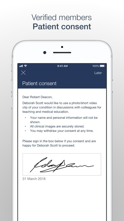 MedShr: Discuss Clinical Cases screenshot-5