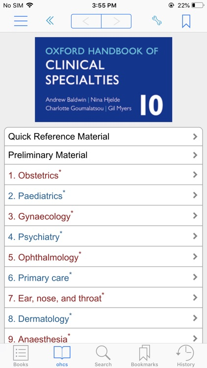 Oxf HB of Clinical Specialties