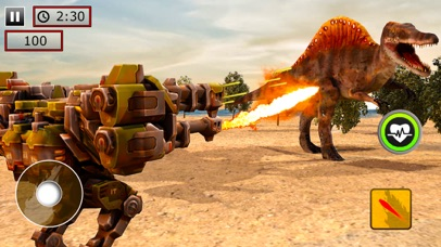 Robot fighting VS Dinosaur war | App Price Drops