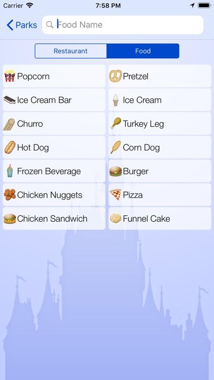 Dining for Disney World screenshot-4