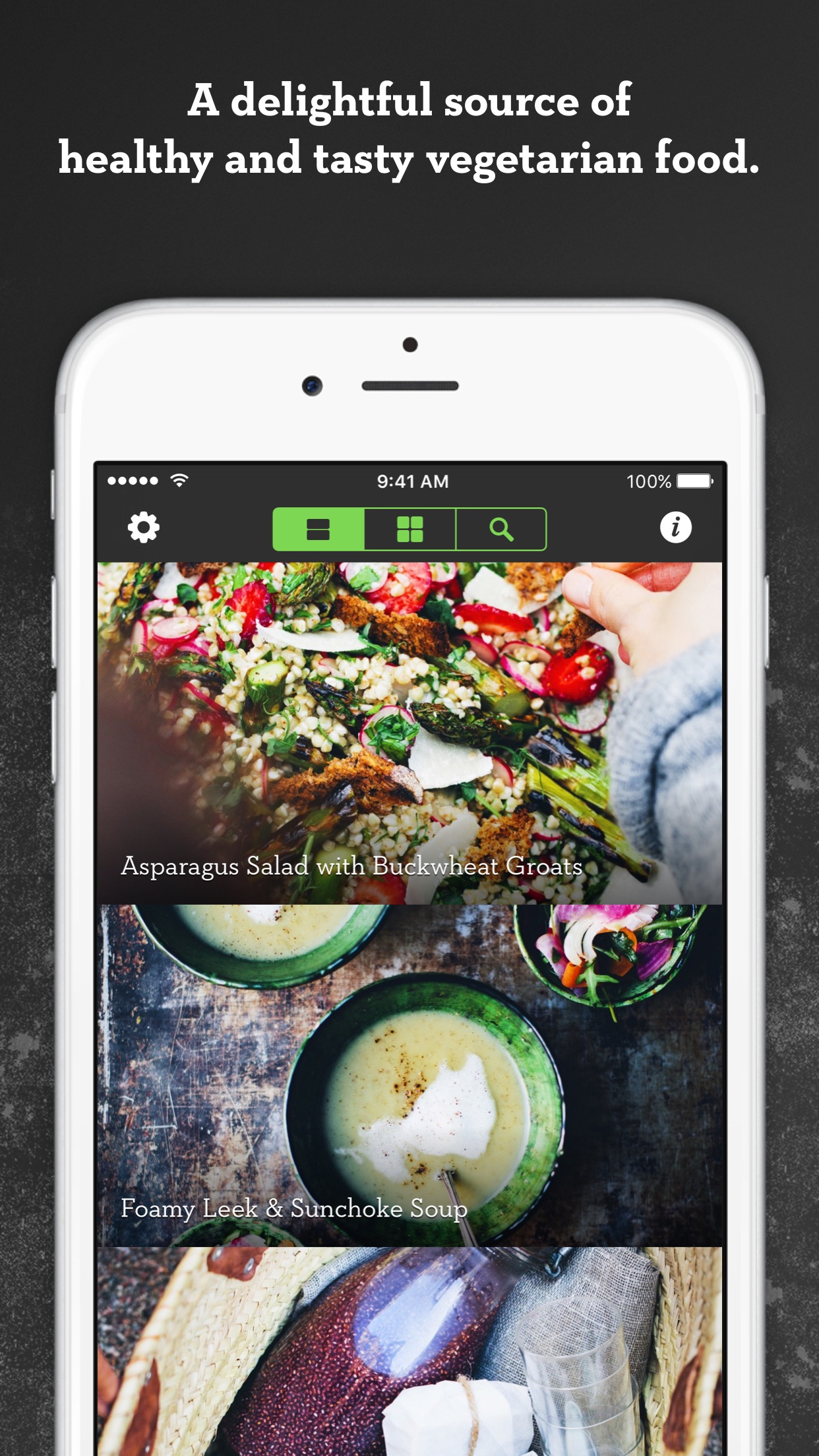 Screenshot do app Green Kitchen