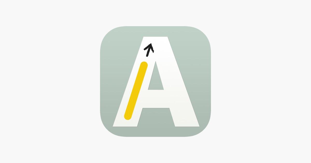 Erstes Schreiben, erstes Lesen im App Store