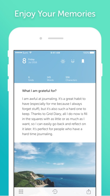 Grid Diary - Simple way to journal screenshot-4