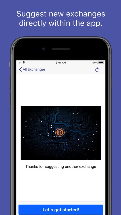 Crypto Exchanges Mobile screenshot-3