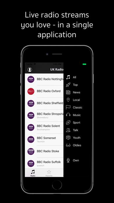 UK Radio - live radio stations