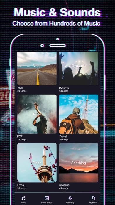 FX Editor- glitch video effect | App Price Drops
