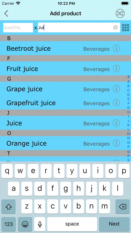 Good Buy - the shopping list screenshot-3