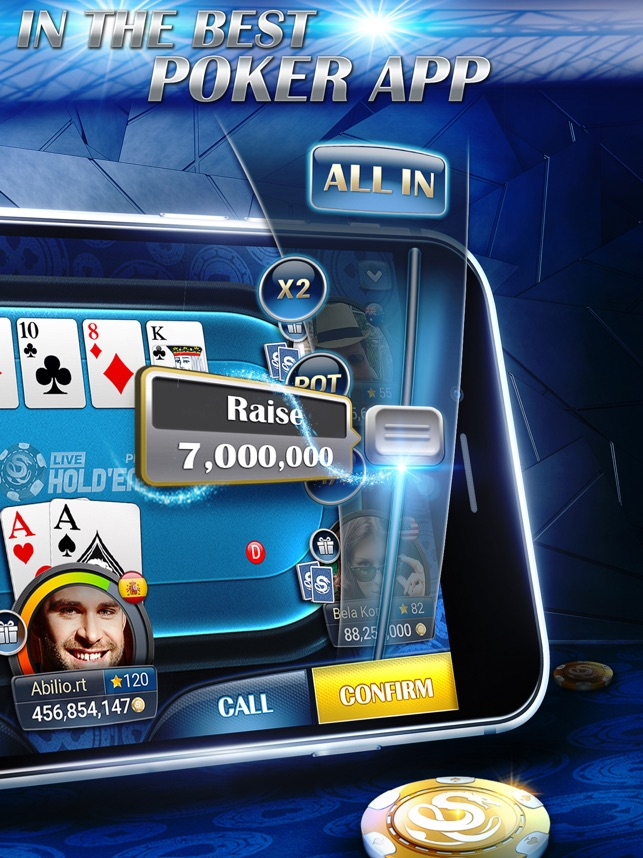 Live Hold Em Pro Poker Game On The App Store