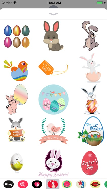 Easter Stickers 2018