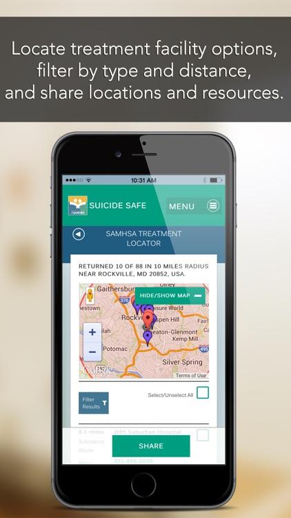 Suicide Safe by SAMHSA screenshot-3