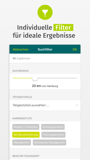 XING Stellenmarkt Screenshot