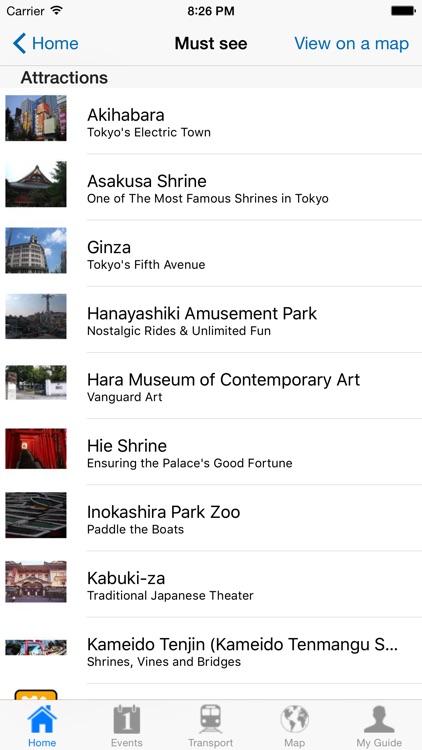 Tokyo Travel Guide Offline screenshot-3