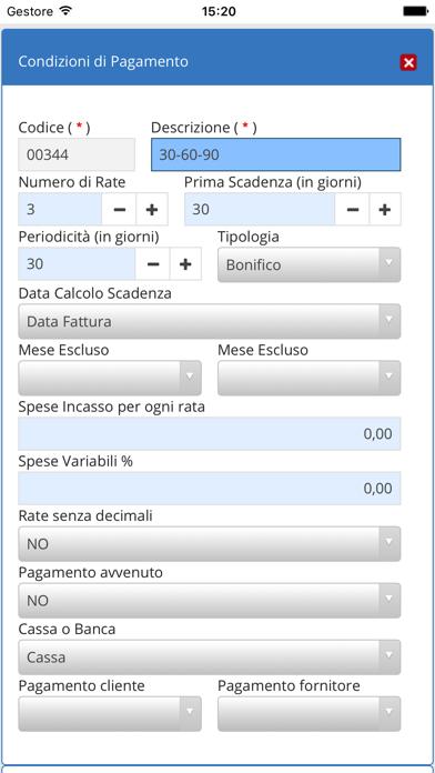 Screenshot of Gestionale JogPlus4
